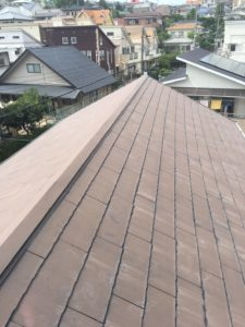 屋根の塗装前写真