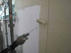 外壁のの手塗り