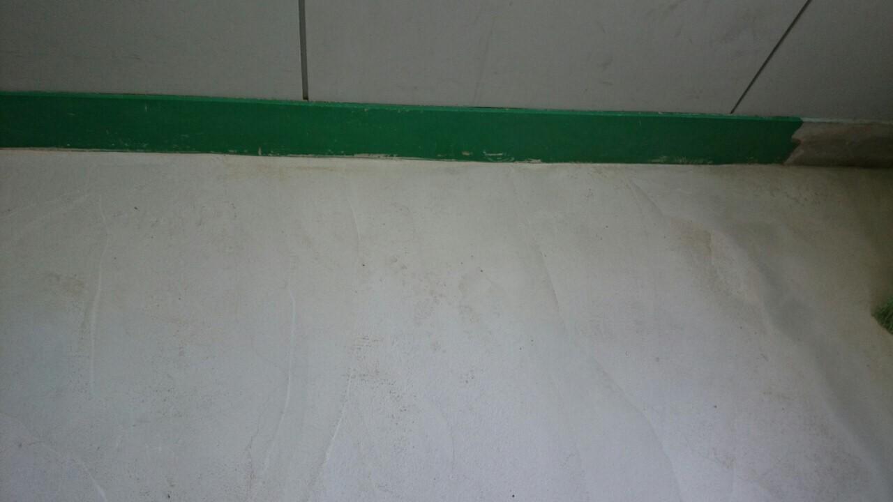 コンクリート床の塗装