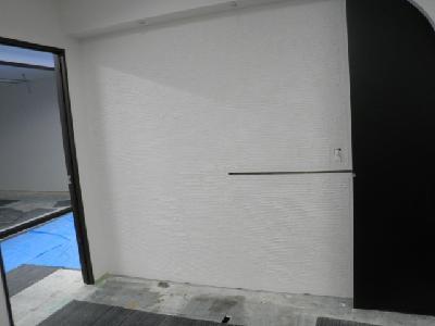 ジョリパット デザイン壁 完了